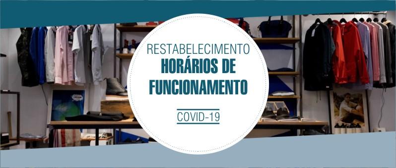 RESTABELECIMENTO DO HORÁRIO DE FUNCIONAMENTO