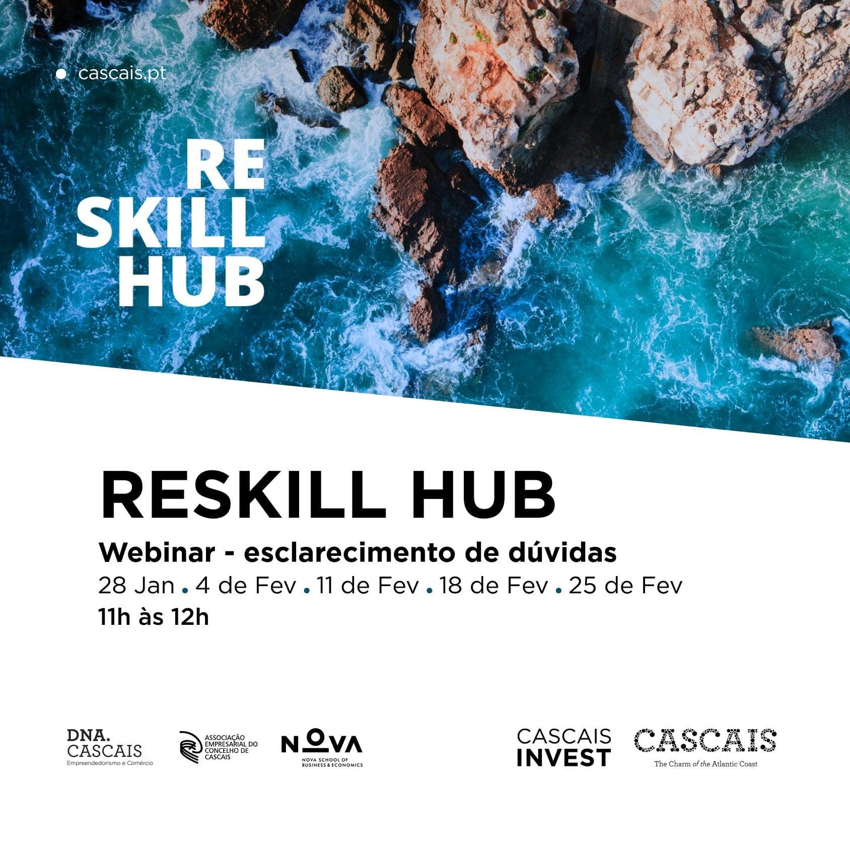 A Cascais Invest apresenta o RESKILL HUB