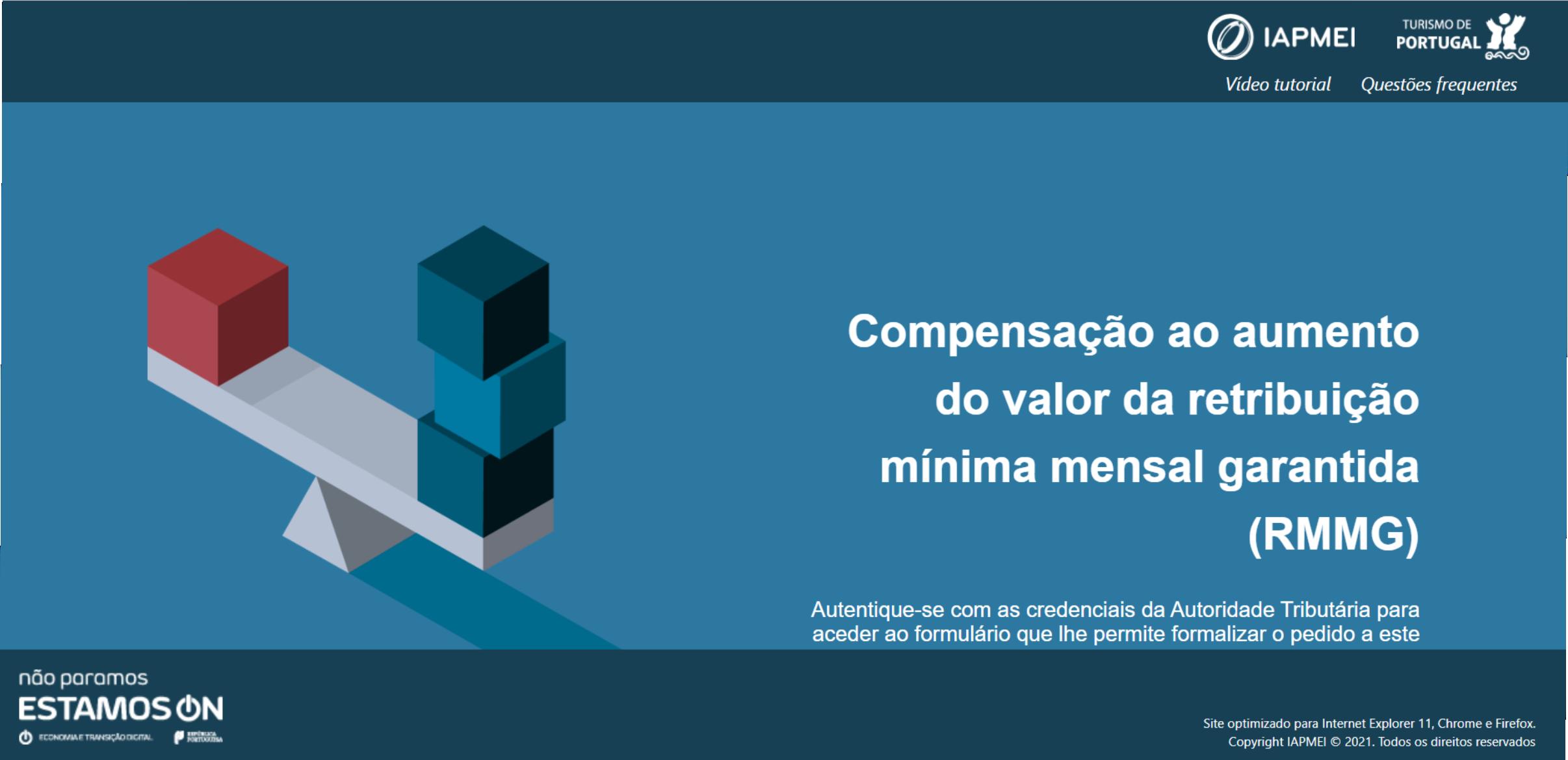 Compensação às Empresas pelo Aumento do Valor da Retribuição Mínima Mensal Garantida (RMMG)