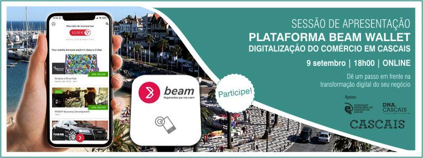 Sessão de Apresentação: Plataforma Beam Wallet – Digitalização do Comércio em Cascais